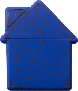 reklámcukorka ház alakú dobozban