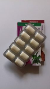 cukormentes rágógumi